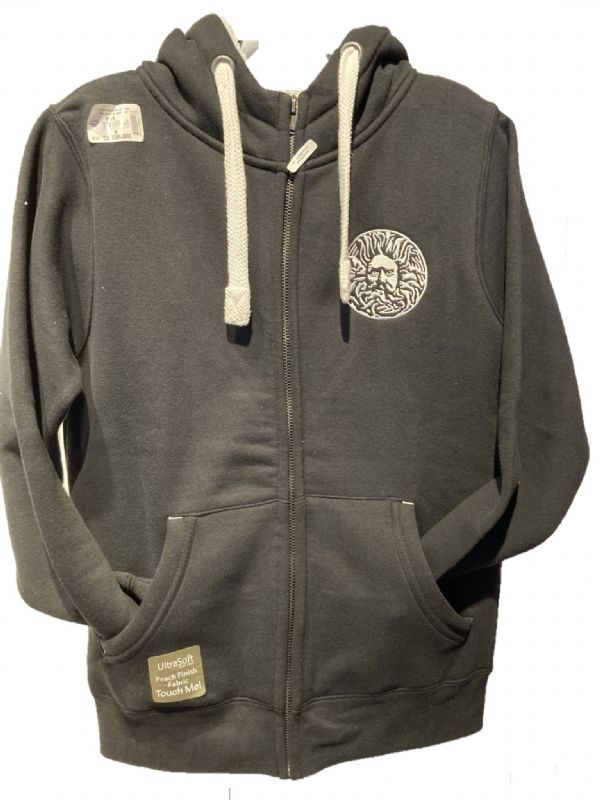 University of Bath Black Sherpa Hoodie